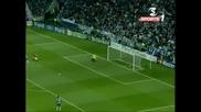 15.04 Изумителен гол на Кристиано Роналдо ! Порто - Манчестър Юнайтед 0:1