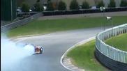 Mad Mike Rx7 Drift Demo - Pukekohe Raceway 2010