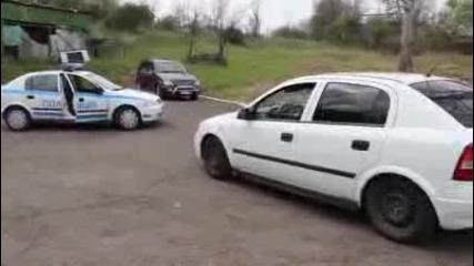 Полицейски екшън в Бургас