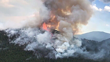 USA: Colorado wildfire rages on after causing over 1,000 evacuations