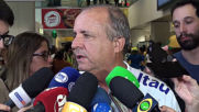 Brazil: Fans show their support as team returns home after Women's WC defeat