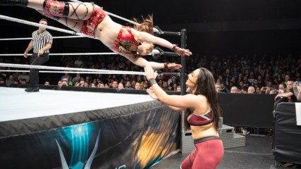 Io Shirai vs. Deonna Purrazzo - Quarterfinal Match: Mae Young Classic, Oct. 17, 2018