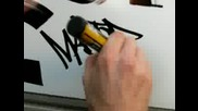 Handstyle graffiti tagging (1)