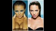 Коя е по - красива? Николета Лозанова или Анджелина Джоли