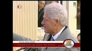 Bill Clinton in Kosovo 01.11.2009
