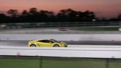 Lamborghini Gallardo vs Audi R8 V10