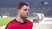 Играчът на мача Димо Атанасов: Не съм герой