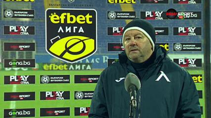 Славиша Стоянович с остра критика към футболистите на Левски