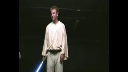 Star Wars Ep2 - Alternate Lightsaber Duel