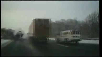 Пътен инцидент с Тир