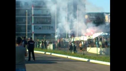 Протест ! Феновете на Спартак Варна срещу ръководството