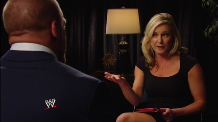 W W E.com - Triple H Interviews With Michael Cole