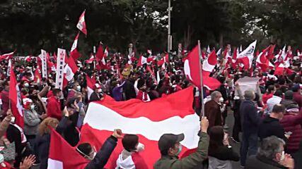 Peru: Protesters denounce Pres Castillo's new govt in Lima