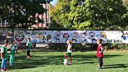 Емил Костадинов откри футболен терен в детска градина в столицата