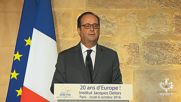 France: Hollande slams Brexit and speaks about 'next female president' of US