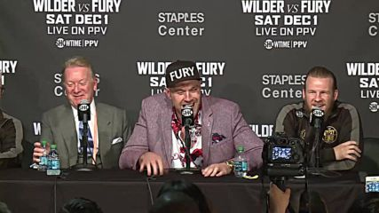 Fury in a sing-a-long mood after shock draw with Wilder