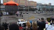 Рускини повториха знаменита каскада на Жан - Клод Ван Дам в Антигравитация 2014