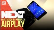 NEXTTV 016: PlayStation 4 & Xperia Z3 AR Studio - демонстрация