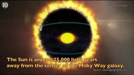 10 изумителни факта за Слънцето! - Планета Земя - Видео