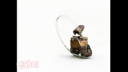 Забавна Анимация - Робот И Обръч
