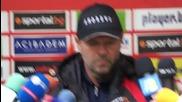 Стойчо Младенов: Имаме проблеми в състава, но ще се справим