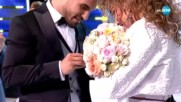 ЕКСКЛУЗИВНО: Златка Райкова се сгоди на сцената на ''Като две капки вода''!