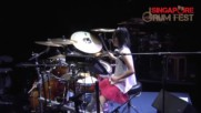 Amazing Teen Girl Drummer Kanade Sato Japan Incredible Drum Solos Ages 12-14