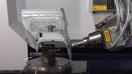 Как работи лазерната система Trumpf