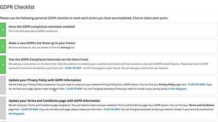 Opencart Gdpr Compliance The Complete E-commerce Checklist online-video-cutter.com