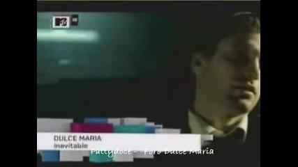 Dulce Maria en puesto 1 con Inevitable - 30 07 (mtv Brasil)
