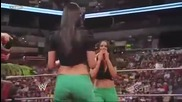 Wwe Brie And Nikki (the Bella Twins) Catfight