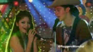 Ексклузивна сцена! Soy Luna 2 - Луна и Матео пеят Vives en mi + Превод