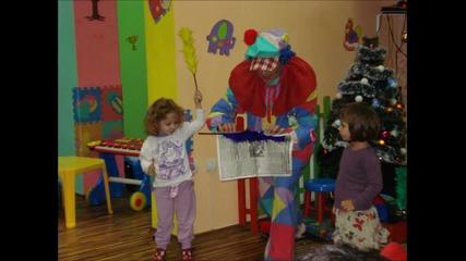 Коледно парти в детски център Бебо