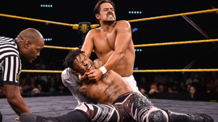 Lio Rush vs. Angel Garza – NXT Cruiserweight Championship Match: WWE NXT, Dec. 11, 2019