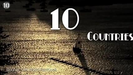 10те държави с най-висока продължителност на живота