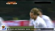 16.06.2010 Юар - Уругвай 0:2 Гол на Форлан Мондиал 2010 Юар
