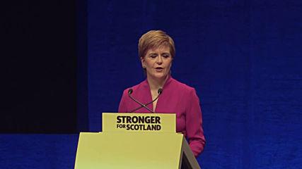 UK: Scottish First Minister Sturgeon claims
