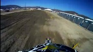 Gopro® Hd Hero Camera Brian Deegan Winning Lap at Pala Cross