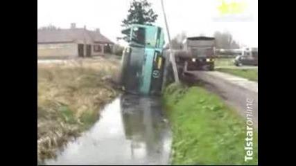 Най - Лесния Начин Да Си Измиеш Камиона!