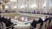 Russia: Putin praises veterans; Lavrov slams West's 'information campaign'
