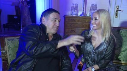 Ana Bekuta i Milutin Mrkonjic - Rodjendansko slavlje Ace Lukasa - (Private 2014)