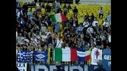 Ултрасите на Лацио подкрепят Левски