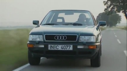 Continuity in flux - From the first Audi 80 to the new A4