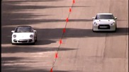 Dragtimes - Porsche 911 Turbo vs Nissan Gt-r