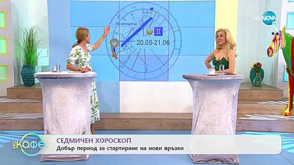 Седмичен хороскоп - На кафе (17.05.2021)