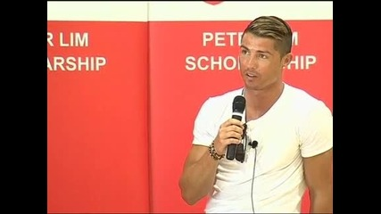 """Роналдо заяви, че бъдещето му е в """"Реал"""" (Мадрид)"""