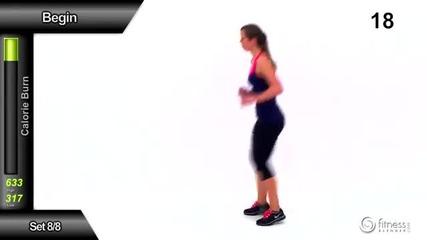 60 минути кардио упражнения