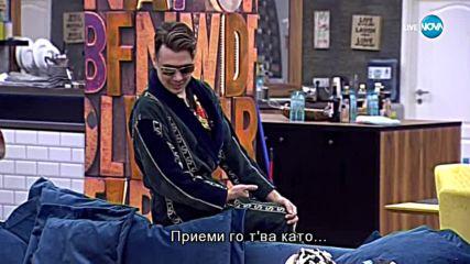 Кулагин се закача с Папи Ханс - VIP Brother 2018