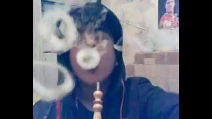 Готини трикове с цигарен дим