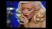 Christina Aguilera - A Song For You- Live -Превод